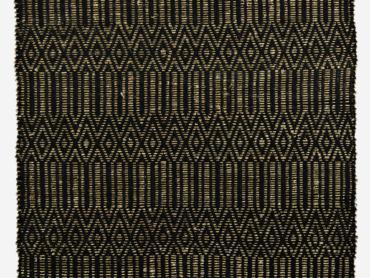 Seagrass rug black, natural Madam Stoltz