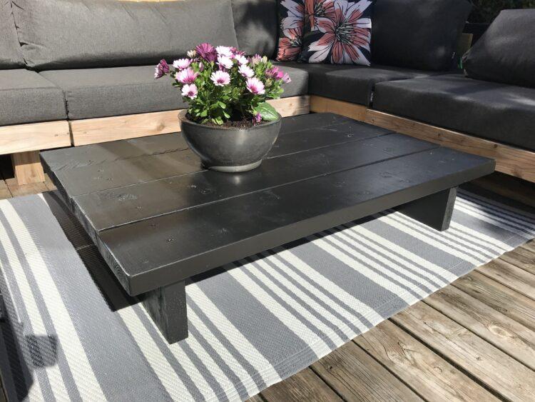 Planke sofa bord