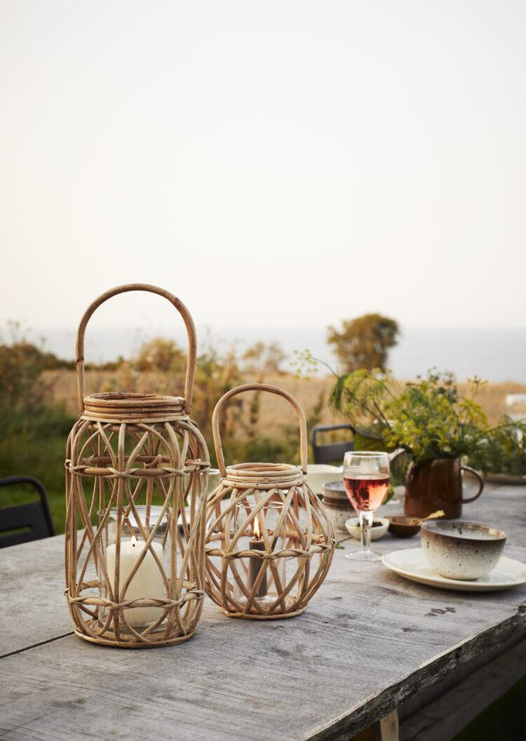 Bamboo lanternesæt- Madam Stoltz